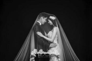 【撮影レポート】韓国で夢の前撮り『Vera Wangのドレス』に『特典の素敵な髪飾り♡』夢の韓国フォトウェディングに大満足♪(THE FACE STUDIO)