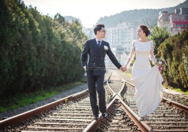 【撮影レポ―ト】結婚式の前撮りと新婚旅行を一度に実現♡新婦さんをお姫様にする夢が韓国フォトウェディングで叶いました(Mare Stduio)