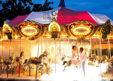 【お知らせ】おとぎの国で夢のようなフォトウェディング! ヨンマランドの特典は9月末まで!(Yongma Land Studio)
