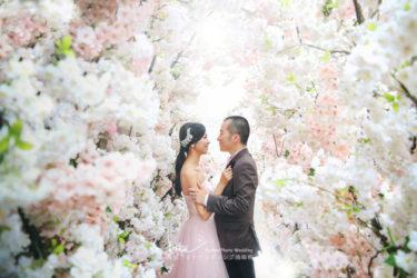 【撮影レポート】結婚式では満足する写真が撮影できず、韓国ウェディングフォトで後撮り♡更に、毎月10組限定のお得な特典で大満足^^(THE FACE STUDIO)